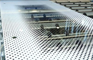Silk-screen printing on glass